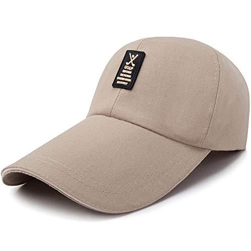 MIBQM Unisexo Gorra de béisbol Ajustable Hombres Mujeres Gorra Snapback Sombrero para el Sol Gorra Deportiva al Aire Libre Sombreros de Pesca-Beige obscuro