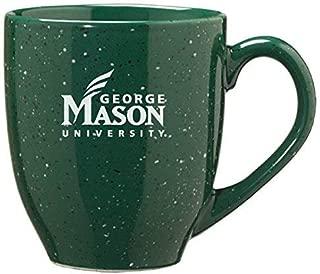 LXG, Inc. George Mason University - 16-Ounce Ceramic Coffee Mug - Green