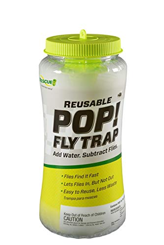 RESCUE! POP! Fly Trap – Outdoor Fly Trap for Home & Agricultural Settings