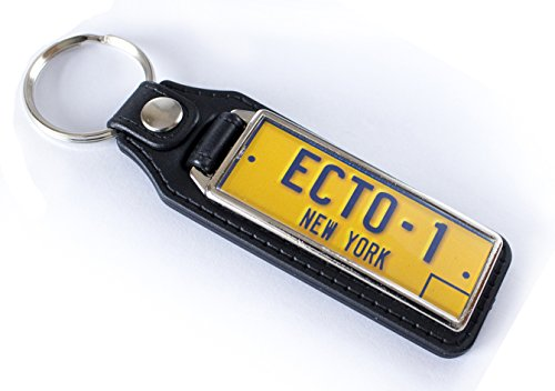 Ghostbusters ECTO-1 Licence Plate Keyring