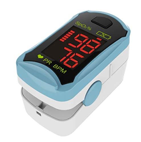 MedX5 LCD Farbdisplay, Pulsoximeter, Fingerpulsoximeter, Pulsmessgerät, Oximeter, Pulsmesser, zertifiziertes Medizinprodukt mit EXTRA Zubehör