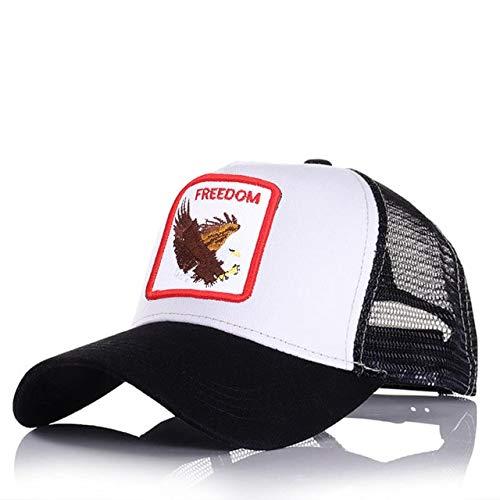 Gorras de béisbol para Hombre, Mujer, Ajustable, Universal, Sombra al Aire Libre, Animal, papá, Conductor de camión, Sombreros de Malla-a42