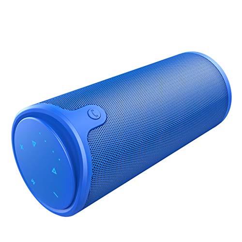 QAR Bluetooth-luidspreker, draadloos, externe geluidskaart, draagbaar, voor muziekspeler, 72 × 72 × 170 mm
