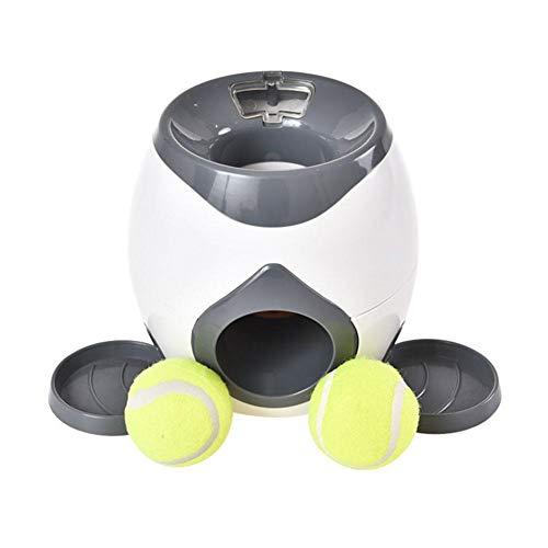 Romancy Hund Langsame Feeder Toy Dog Activity Memory Trainer Tennis Ball Werfer Food Machine Training Spielzeug