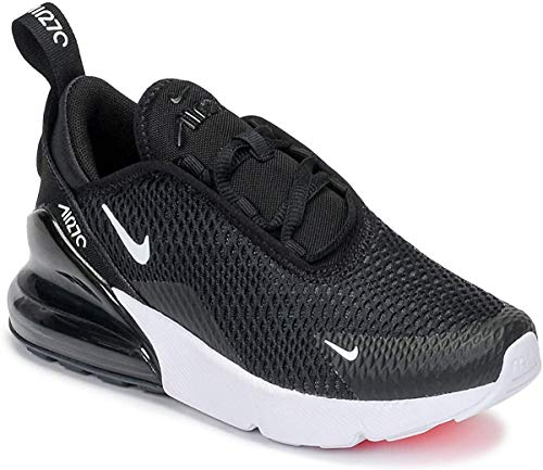 Nike Jungen Air Max 270 (ps) Sneakers, Schwarz (Black/White/Anthracite 001), 28 EU