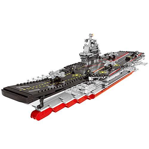 Xingbao 06020 Military Series The Aircraft Ship Set Building Blocks Assembly MOC Bricks Educational Toys Military Battleship Model Building Kits