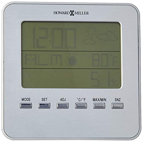 Howard Miller 645-693 Weather View Alarm Clock by