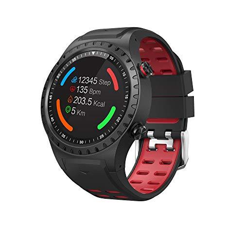 SMA-M1 Smart Watch 1.3 '' IPS Schermo intero rotondo Braccialetto intelligente BT4.0 Frequenza cardiaca Monitoraggio del sonno GPS Bussola Barometro Pedometro Orologio Smart Timer IP65