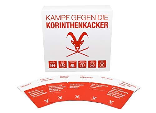 Kampf gegen die Korinthenkacker – das fiese Kartenspiel für Österreich mit schwarzem Humor