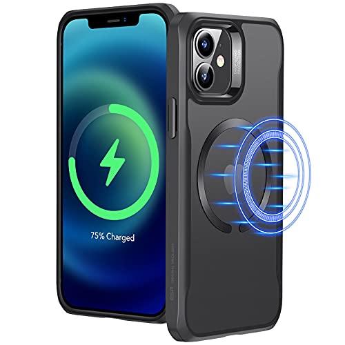 ESR Funda Compatible con iPhone 12/12 Pro (2020), Magnética Carcasa Compatible con MagSafe y Carga inalámbrica, Funda...