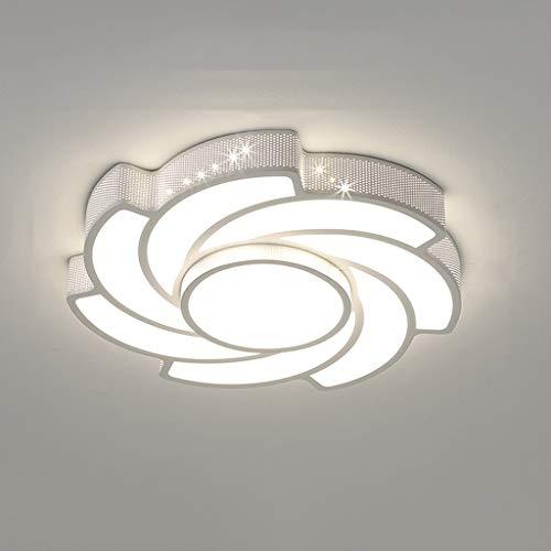 N/Z Home Equipment Light Lamp Lighting Creative Flower Shape Hollow Iron Lamp Body Living Room Light High Translucent Lamp Shade Bedroom Study Lamp Modern Minimalist Off