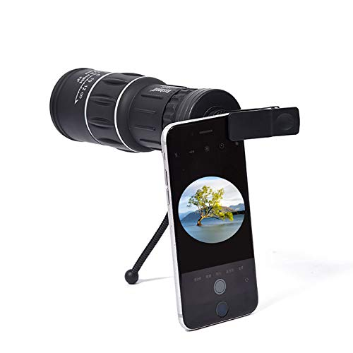 For Sale! ZMEETY Outdoor Monocular, 16X52 High-Definition Dual-Tone Mobile Phone Camera Telescope
