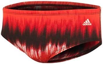 adidas Red Graphic Stripe Swim Brief Size 28