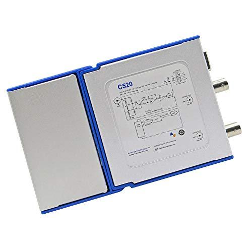 MaylFre C520 portátil de Mano Equipo de Prueba del osciloscopio Digital Virtual osciloscopio de Mano multímetro de 25 MHz de Ancho de Banda 50M