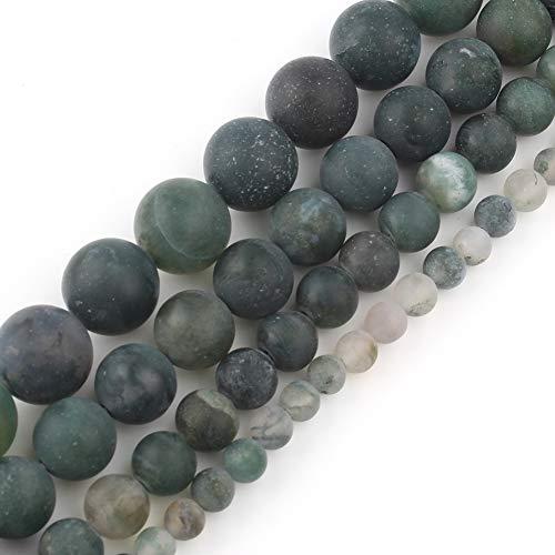 Amor perlas mate perlas de piedra redonda sueltas joyas hacer