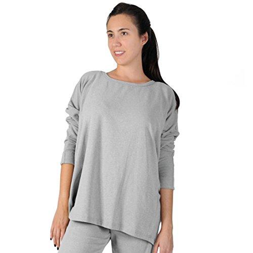 Big Shirt Annabell hellgrau Gr. 48 - (384866 FB153 Big Shirt GR. 48)