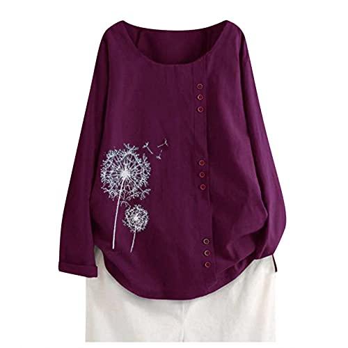 YUNGE Blusa Rosa Palo, Trajes De Baños 2021, Camisas para Embarazadas, Blusas Rayadas, Camisa Rayas Mujer,...