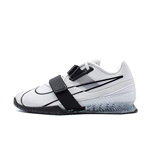 Nike CD3463-101, Scarpe da Ginnastica Gymnastics Unisex-Adulto, Bianco Nero, 42.5 EU