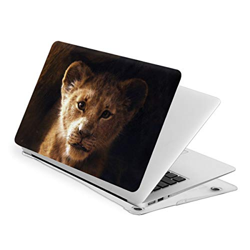 Simba Lion King Laptop Case MacBook Non-Slip Durable Waterproof Plastic Hard Shell Case,for MacBook New Air 13/Air 13/15 Inch/Touch 13/15inch PVC Laptop Protective Cover touch13