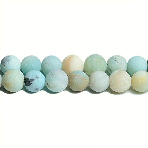 Charming Beads Amazzonite Perline Multicolore Tondo 6mm Smerigliato Filo di 62+