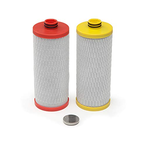 Aquasana AQ-5200R Replacement Filter Cartridges for 2-Stage Under Sink...