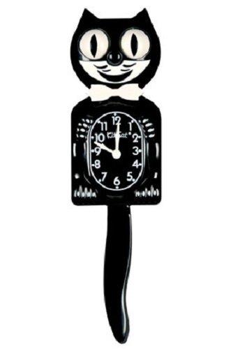 キット キャット クロック (クラシックブラック(ボータイ:ホワイト)) キット キャット クロック Kit Cat Clock Kit Cat Klock 壁掛け時計 時計 とけい 壁 ウォールクロック かわいい ネコ 猫 キャット