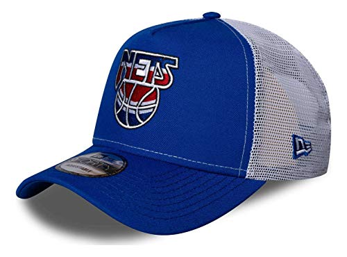 New Era - NBA Brooklyn Nets Hardwood Classic Nights 9Forty Trucker - Gorra con correa en color azul azul Talla única