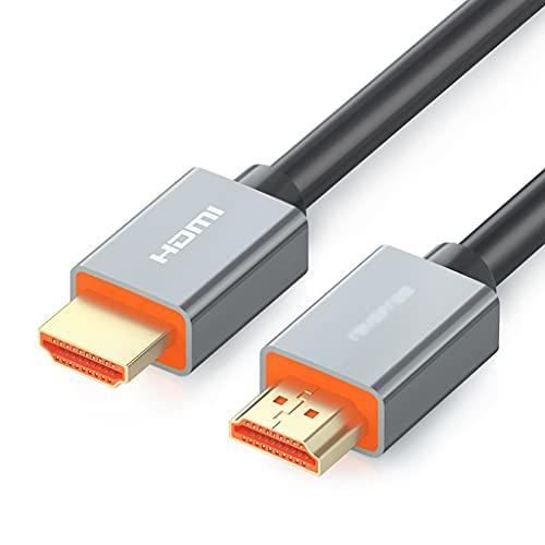 AWYST Cable DP Cable HDMI Cable 4K HDMI 2.0 Cable de 18 Gbps de Alta Velocidad con Conector Chapado en Oro para TV, PS3 / 4 BLU-Ray, PC, proyector, Monitor Display Port (tamaño : 1m)