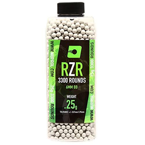 Nuprol Airsoft RZR BBs 0.25 grams 3300pcs