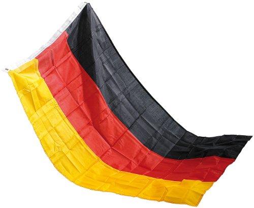 Unbekannt Pearl Deutschlandflagge: Deutschlandfahne 150 x 90 cm aus reißfestem Polyester (Deutschland Fahnen)