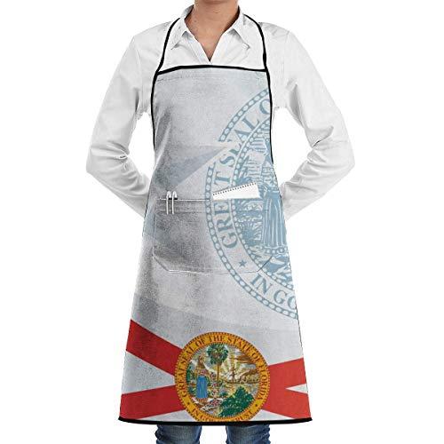 Verstellbare Latzschürze mit extra langen Krawatten für Frauen Männer, Mehrfarben, Koch, Küche, Haus, Restaurant, Café, Kochen, Backen, Gartenarbeit, die Vorlage für die Auszeichnung eines offiziellen