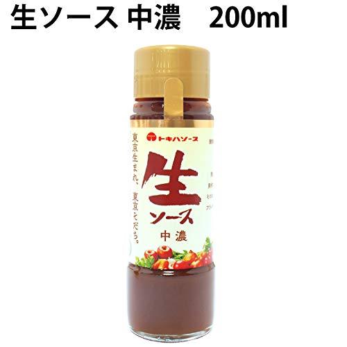 トキハ  生ソース 中濃 200ml  6本