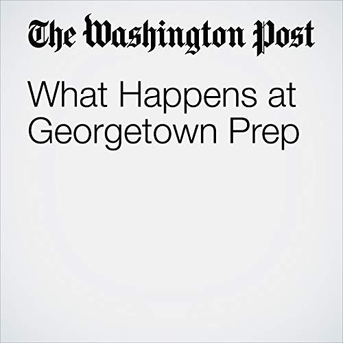 What Happens at Georgetown Prep copertina