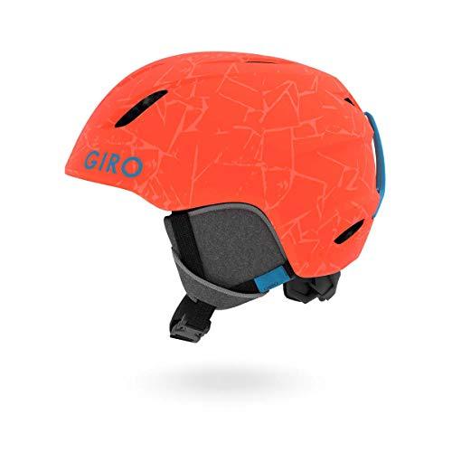 Giro Unisex Kinder Launch Skihelm/Schneeschuh, Matt Zinnoberrot, 48.5-52 cm