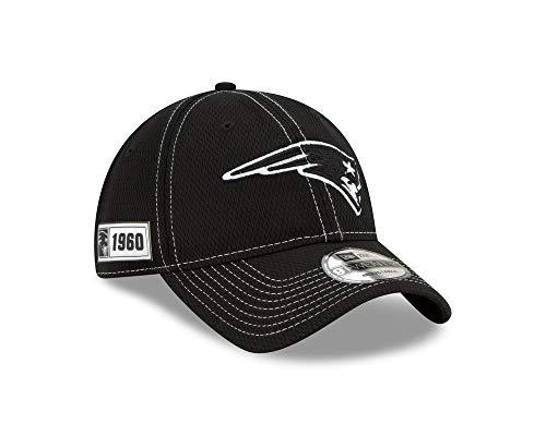 New Era NFL New England Patriots Authentic 2019 Sideline Road 9TWENTY Black Game Cap
