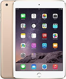 アップル iPad mini 3 Wi-Fi + Cellular 16GB ゴールド(NTT docomo)