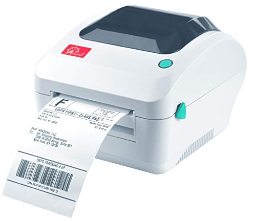 Arkscan 2054A Ethernet Network Shipping Label Printer for Windows Mac Chromebook Support Amazon Ebay Paypal Etsy Shopify ShipStation Stamps.com UPS USPS FedEx, Roll & Fanfold 4x6 Direct Thermal Label