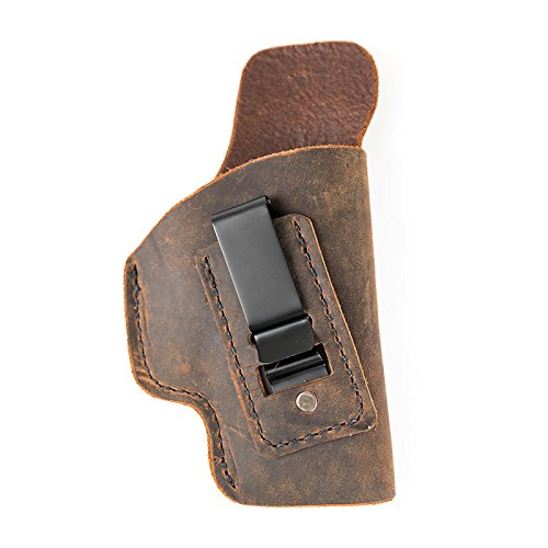 Muddy River Tactical Kimber Micro 380 - Soft Sided Leather Inside The Waistband (IWB) Concealed Carry Holster (Right Handed)