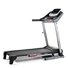 IFit coach ready; Access iFit account from computer, tablet, or Smartphone; Requires membership, sold separately 5 inch high contrast multi color display, 16 on board workouts, EKG grip Pulse heart rate sensor, 2.5 HP Mach motor 16 x 50 inches tread ...