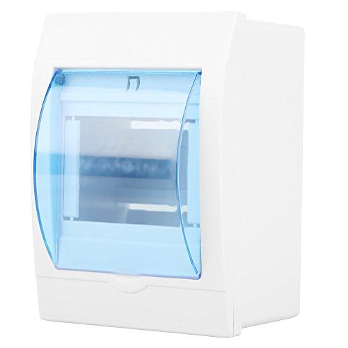 Caja de protección de distribución de energía de la cubierta transparente de plástico para el interruptor de circuito de 3 a 4 vías de interior en la pared