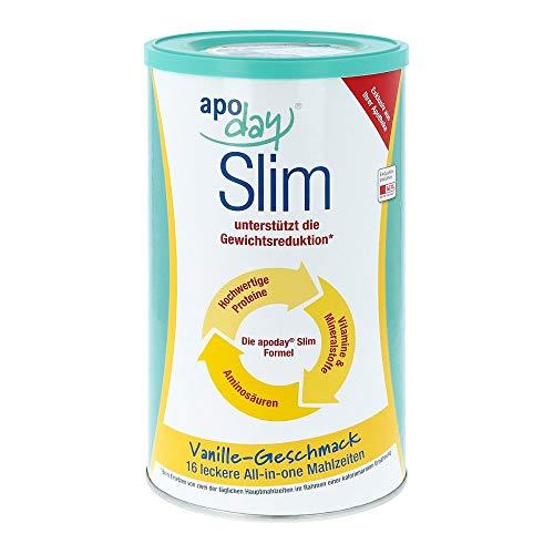 Apoday Vanilla Slim Pulver Dose, 450 g
