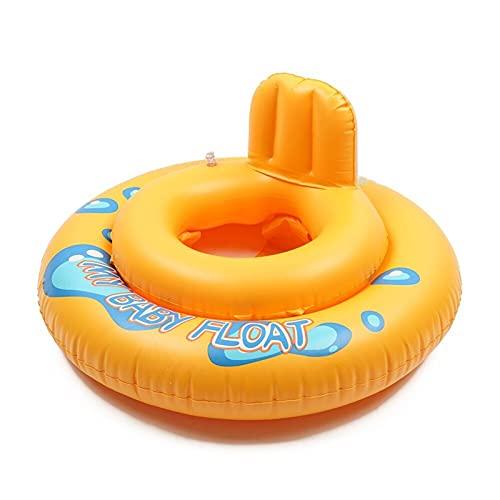 Baby Swimming Ring Circle Swim Ring Sitt Lnflatable Baby Float Tillbehör Säkerhet Sommar Småbarn Lifebuoy För Kids Toddler Lnfant ( Color : Yellow )