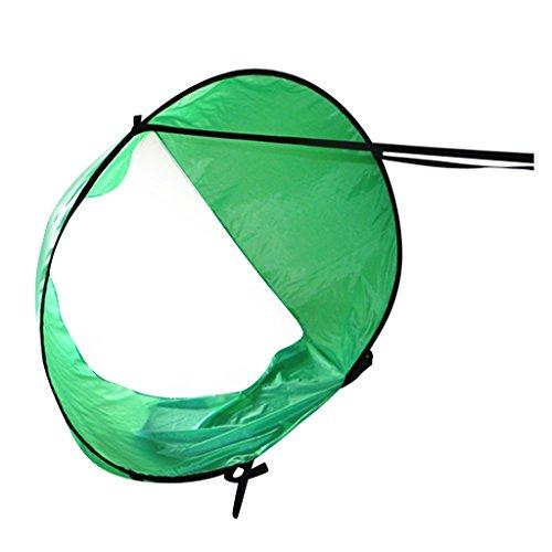 Toygogo - Kit de Vela Plegable y Compacto (118 cm), Verde