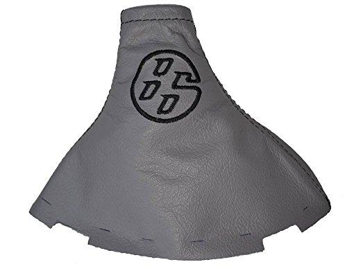 Für Toyota gt-862012–16manuelle Schaltsack Schaltsack grau Italienisches Leder schwarz 86LOGO Stickerei