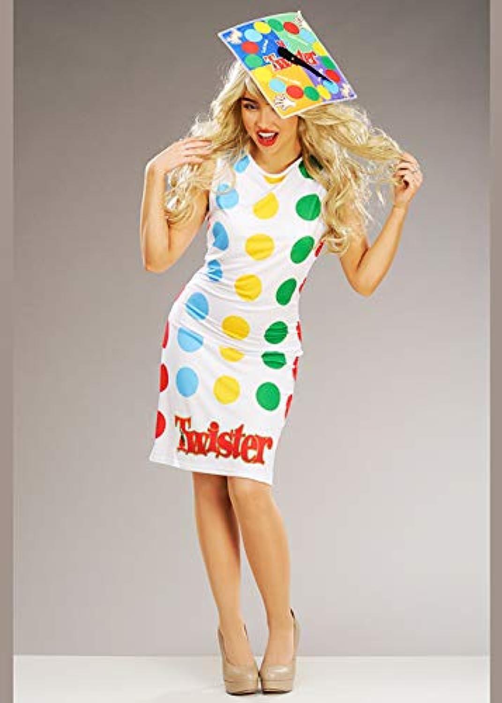 Struts Costume da Gioco per Adulti Twister tavola gioco Smtutti (UK 8-10)