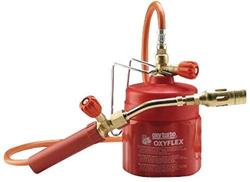 Kit soldador móvil profesional con soplete de gas butano Art.504000. Oxyflex. Hecho en Italia. Oxyturbo