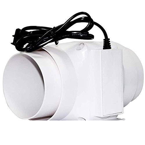 Ventilador de la pared de la pared del ventilador de escape Ventilador de la cubierta para el baño Hogar silencioso Ventilador Tubería del conducto de la tubería Ventilato de ventilación Limpi