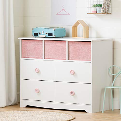 Our #6 Pick is the South Shore Sweet Piggy 4-Drawer Kid's Dresser