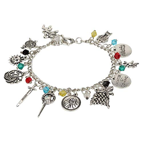 Kia-Mia Harry Potter Merchandise Charms Bracelet for Girls and Women