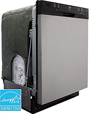 SD-6501SS: Energy Star 24? Built-In Stainless Steel Tall Tub Dishwasher w/Heated Drying – Stainless